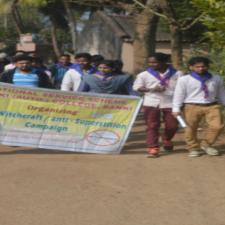 Witch craft awareness campaign Orissa