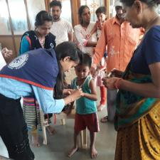 Mission Indradhanush , polio vaccination