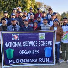 Plogging Run Jammu