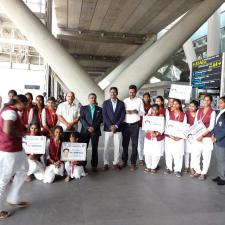 Visit of Honble Minister, Youth Affairs and Sports, Chennai