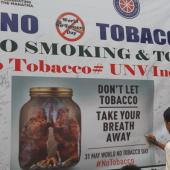 World No Tobacco Day 31 May 2019