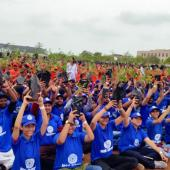"Tree Plantation"" Guinness Record of largest distribution of Saplings"