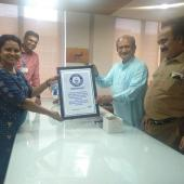 Guiness world record voting Awareness