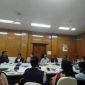 Meeting of NSS officials with Secretary YA